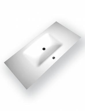 Lavabo Solid Surface 1000 Blanco Mate