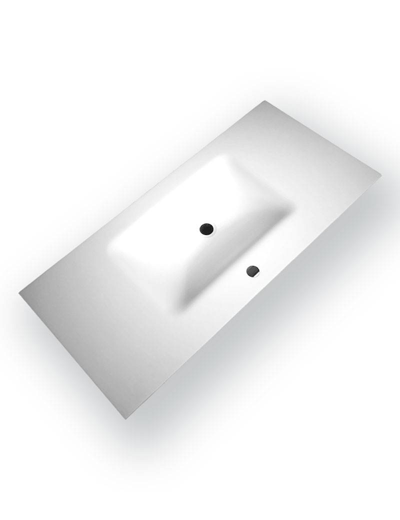 Lavabo Solid Surface 100 Blanco Mate